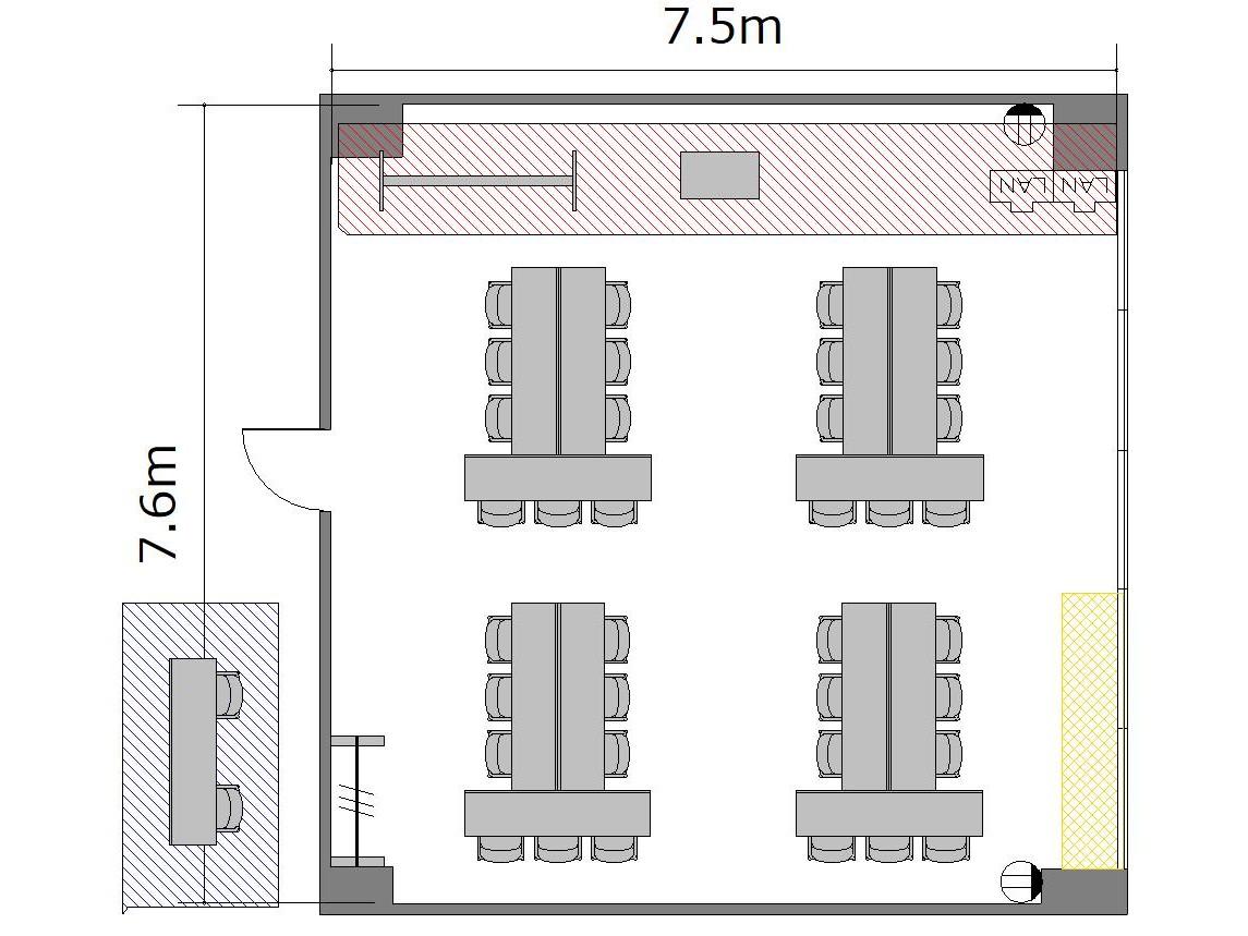 T字島:最大収容 24名