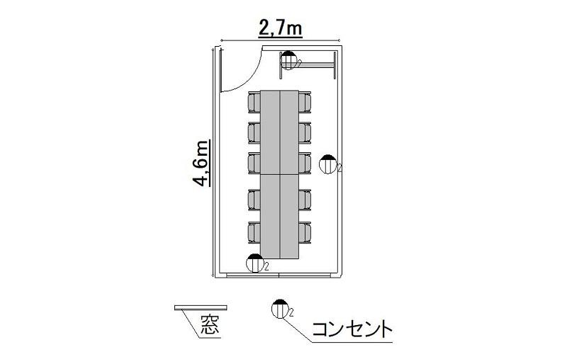 島型-レイアウト