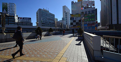 TKP上野駅前ビジネスセンター周辺