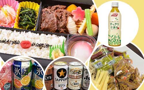 お弁当とお酒とおつまみのセット【特別弁当パック】(東京エリア)