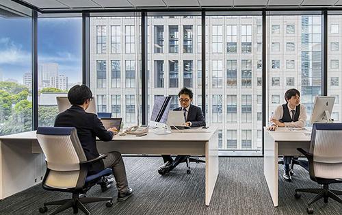 オフィスの分散、サテライトオフィスとしてのご利用