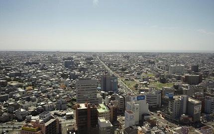 アクトタワー25階からの絶景