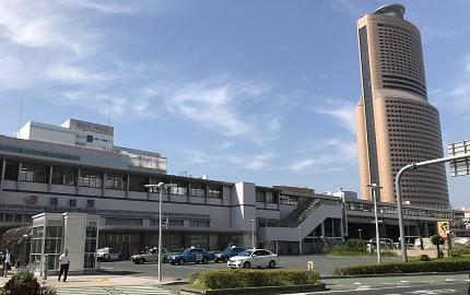 浜松駅のランドマーク。駅直結の好立地。