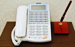 会場内線電話