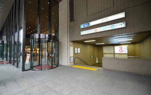 地下鉄『大手町駅』C1出口直結