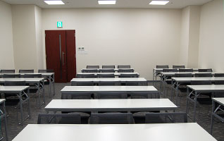 会議室は全5室、定員12名~70名収容