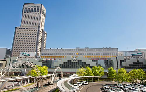 JR札幌駅北口に近い好立地。