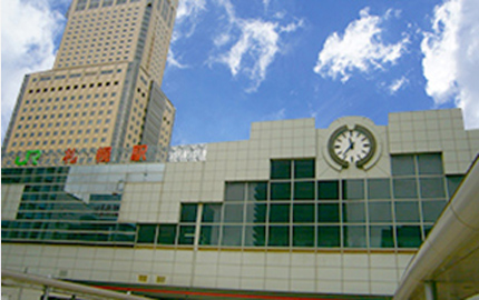 JR線「札幌駅」北口より徒歩2分
