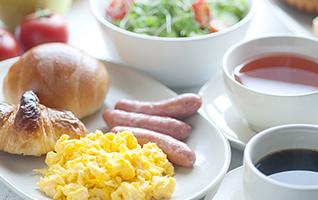 朝食のご提供