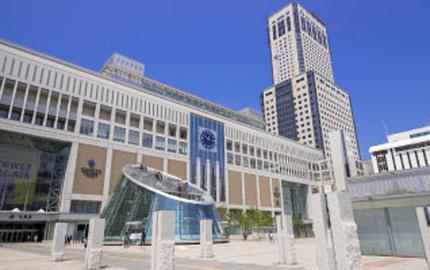 JR線「札幌駅」南口より徒歩5分