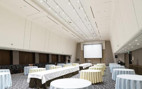 天井高6.0mの宴会場