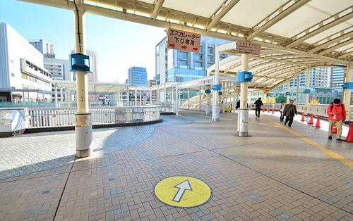 JR田町駅すぐでアクセス抜群