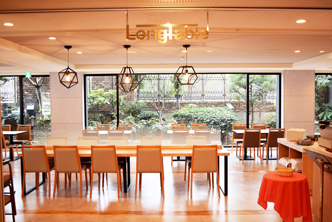 レストラン ロングテーブル<br />(ホテル棟2階)